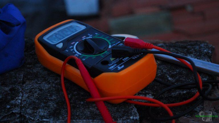 Wissenswertes - Multimeter dient zur Messung elektrischer Größen
