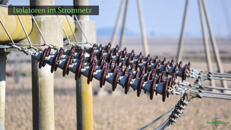 Effekte der Ladungsträgerbewegung in Isolatoren der Stromnetztechnik