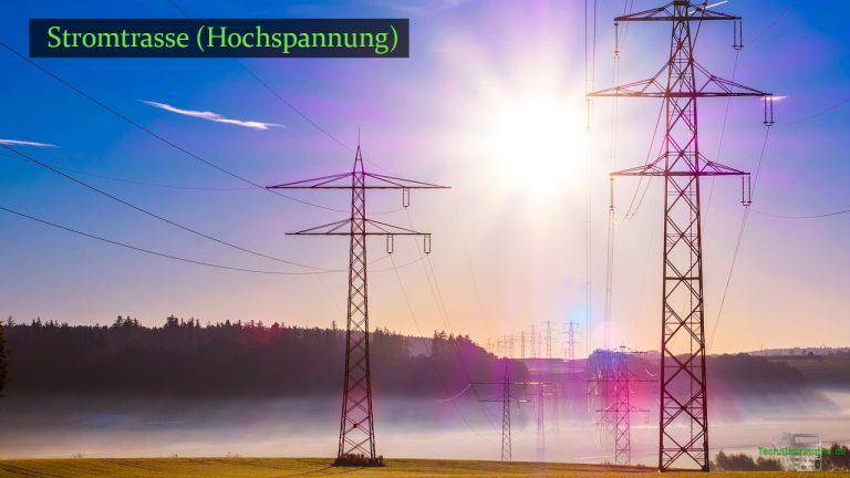 Stromstärke einer Stromtrasse