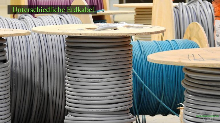 Kabel auf Kabeltrommeln haben eine unterschiedliche Stromdichte