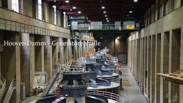 Elektrische Quelle am Hoover Damm
