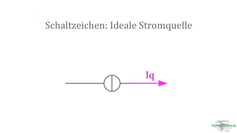 Schaltzeichen - Ideale Stromquellen