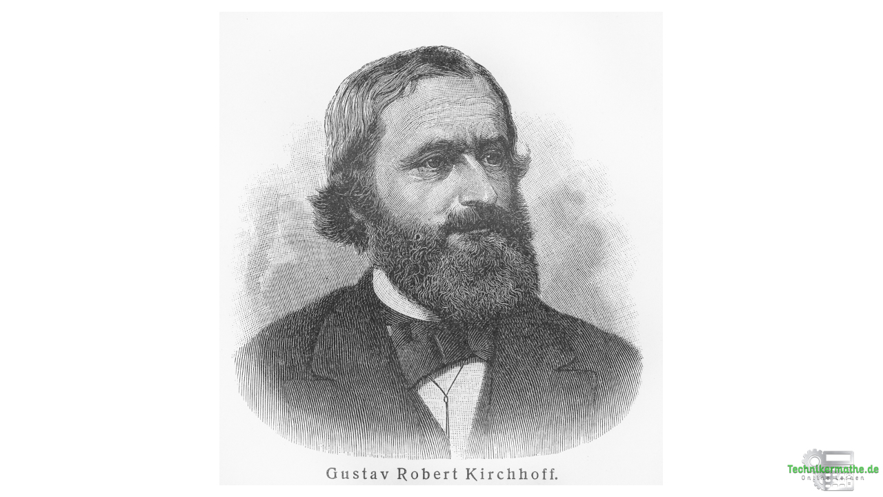 Gustav Kirchhoff - Portrait