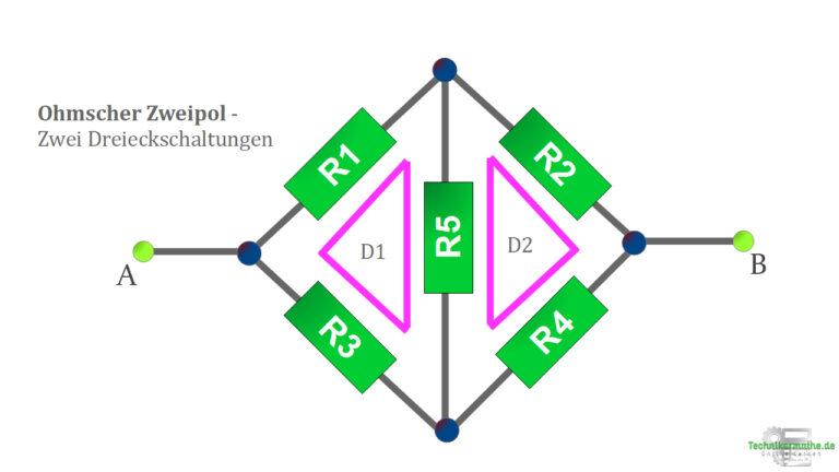 Ohm'scher Zweipol - Dreieckschaltung