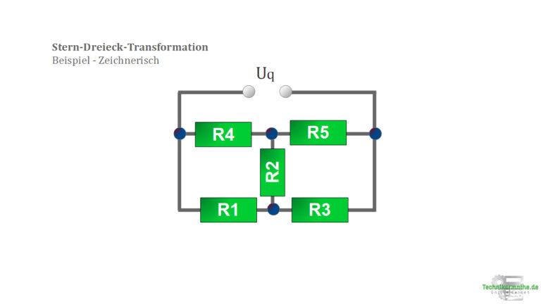 Stern-Dreieck-Transformation - Beispiel