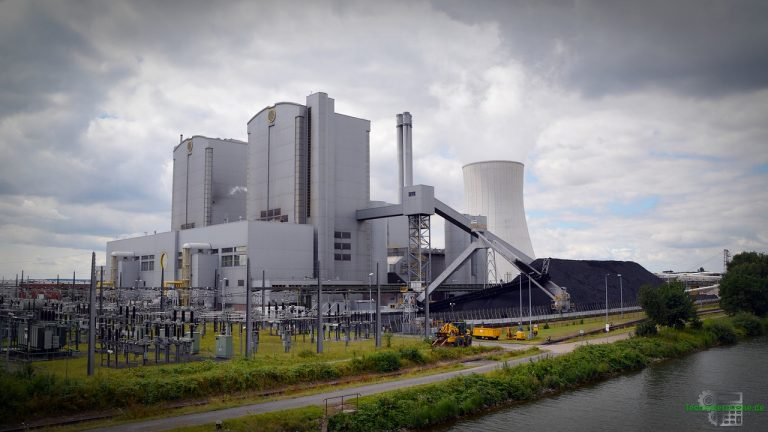 Elektrische Energie - Kohlekraftwerk