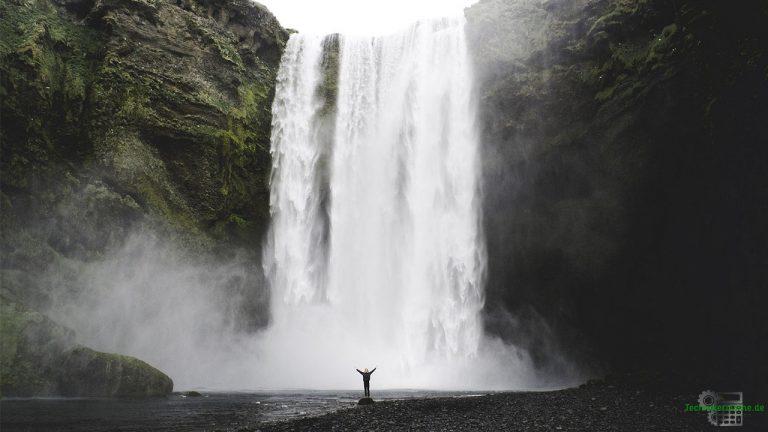 Wasserfall - Freier Fall