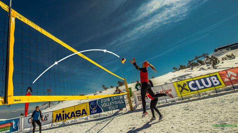 Volleyball: Der Schräge Wurf