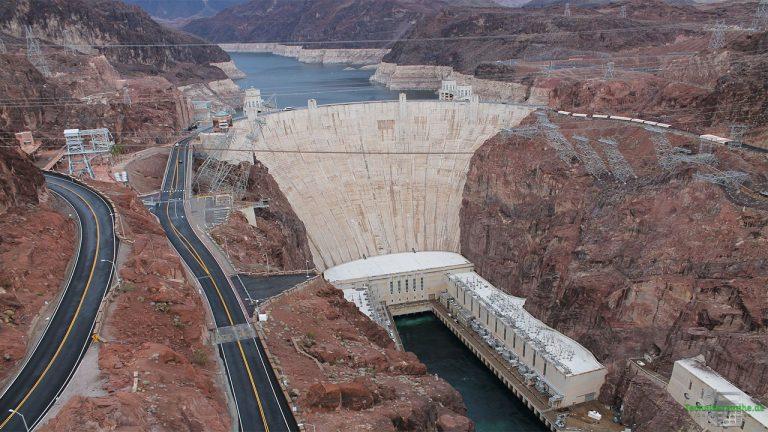 Potentielle Energie (Lageenergie): Wasserkraftwerk
