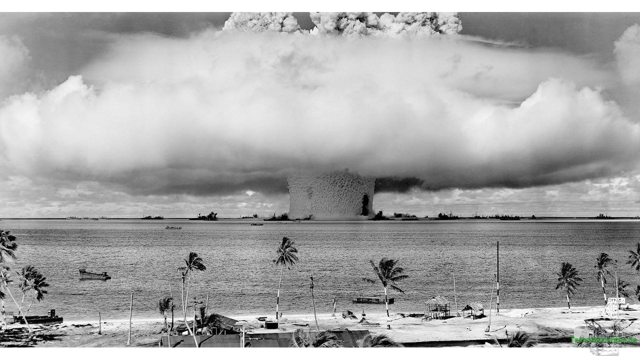 Atombombe im Bikini-Atoll