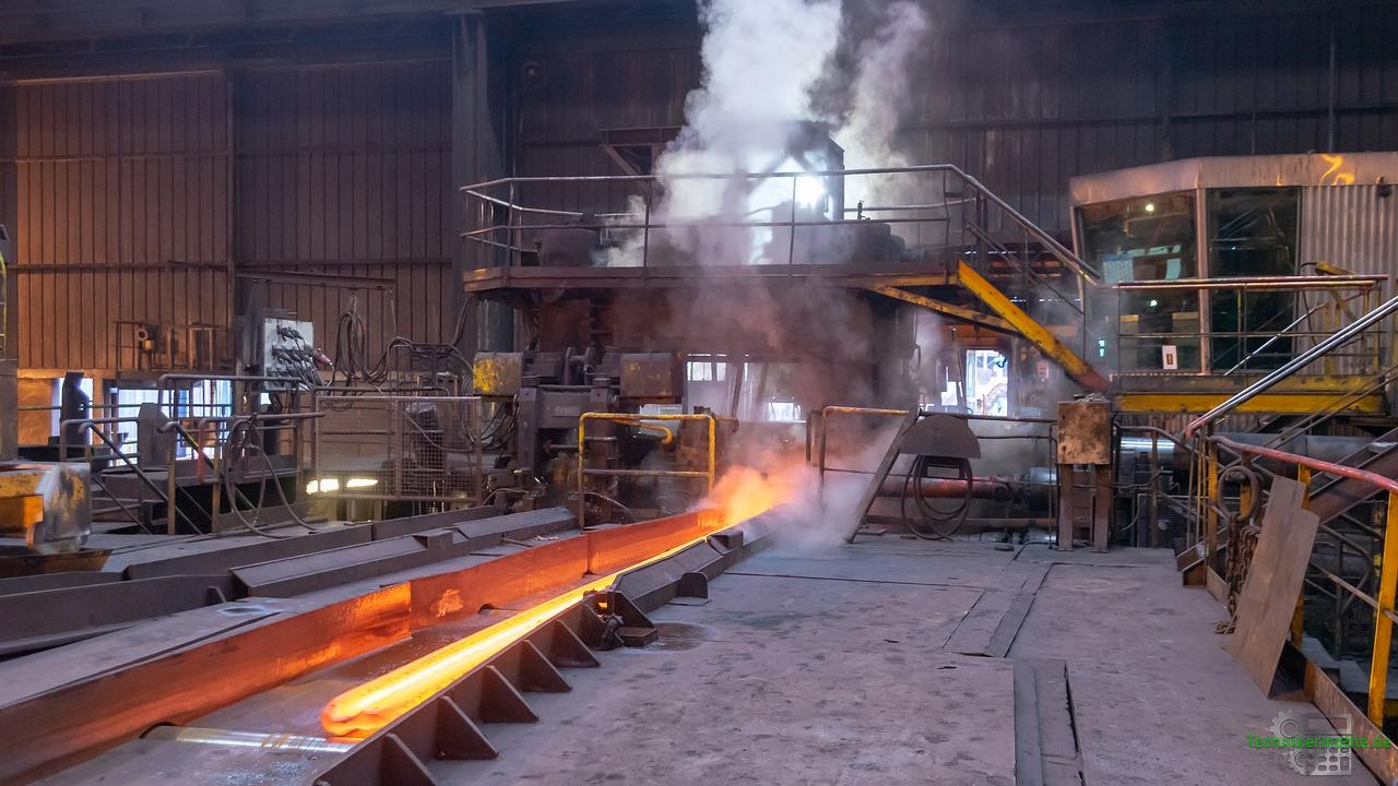 Schadstofffreisetzung auch in der Stahlindustrie