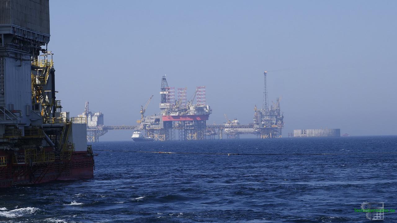 Primärenergie - Offshore-Förderung