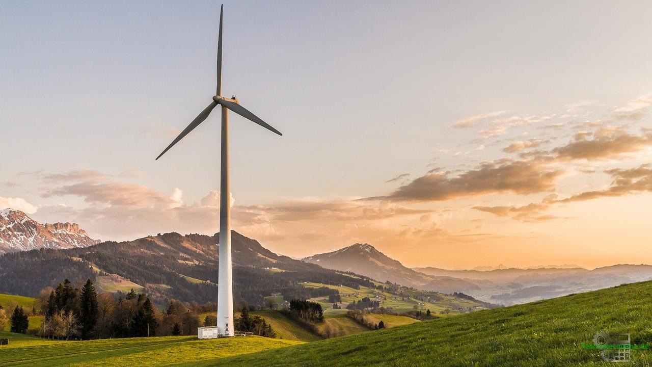 Primärenergie - Windenergienutzung