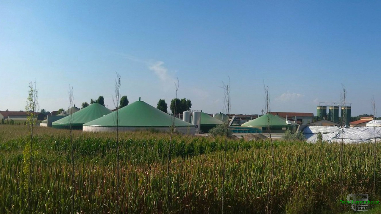 Energiequellen - Biogasanlagen