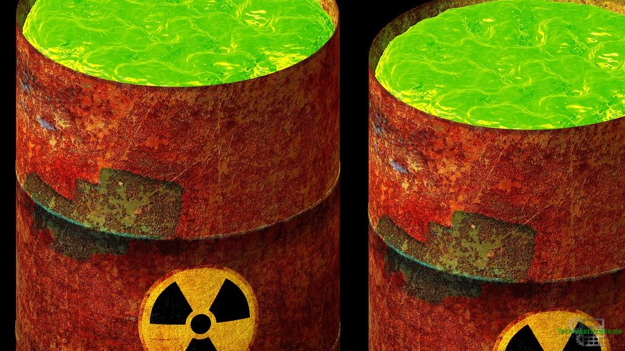 Atommüll , radioaktive Abfälle