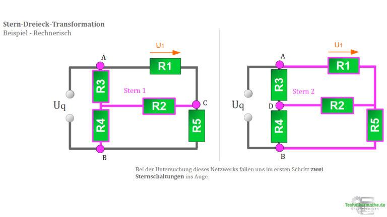 Netzwerkgröße - Teilspannung U1