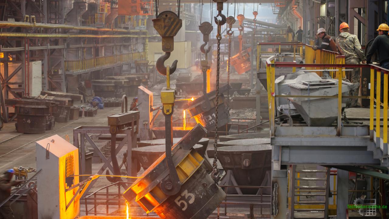 Energieträger der Industrie - Stahlwerk