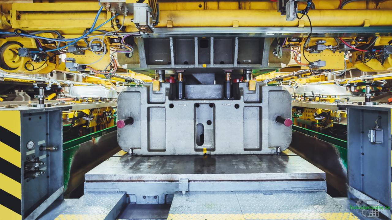 Stanze in der Autoindustrie