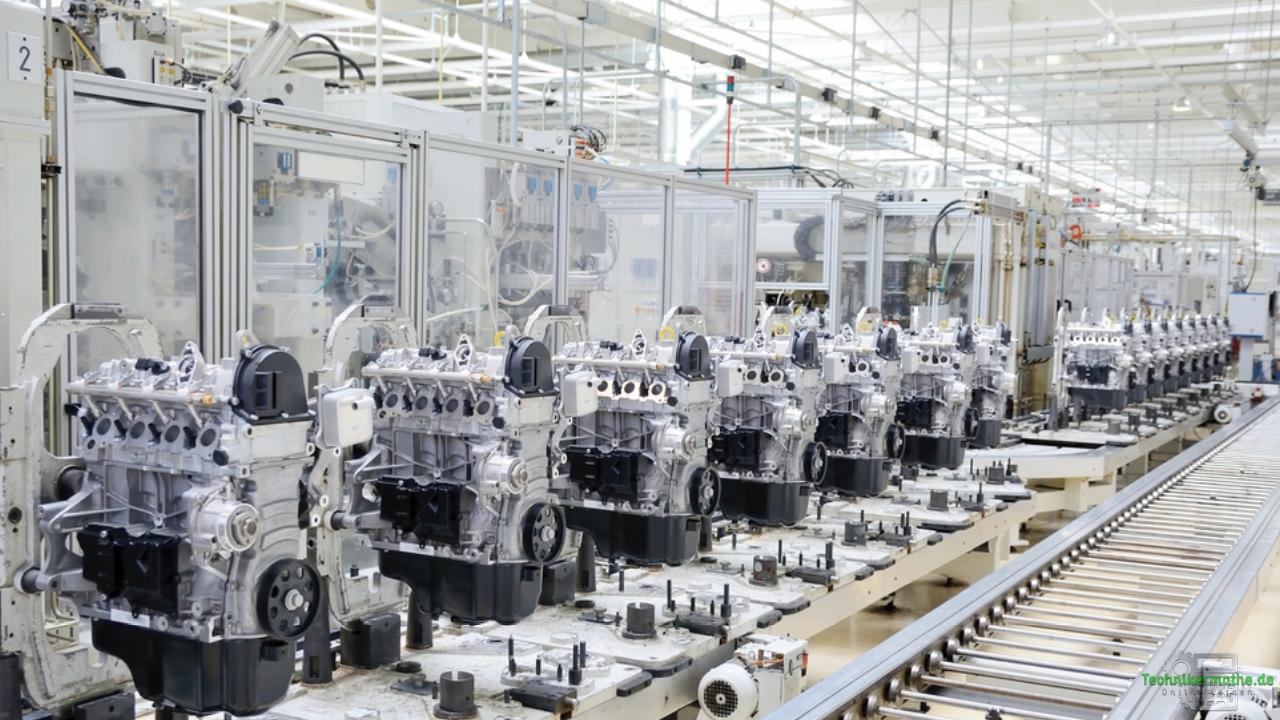 Energieträger der Industrie - Produktlinie von Motoren