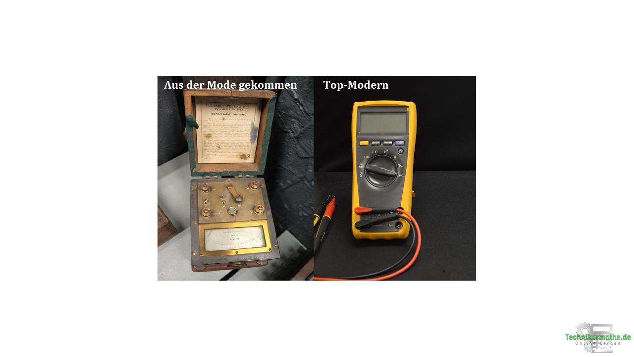 Messgerät - Ohmmeter und Multimeter