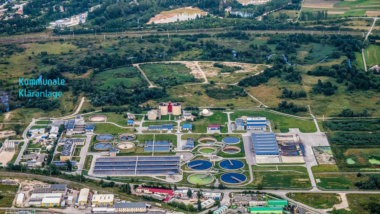 Abwasser - Reinigung in kommunaler Kläranlage