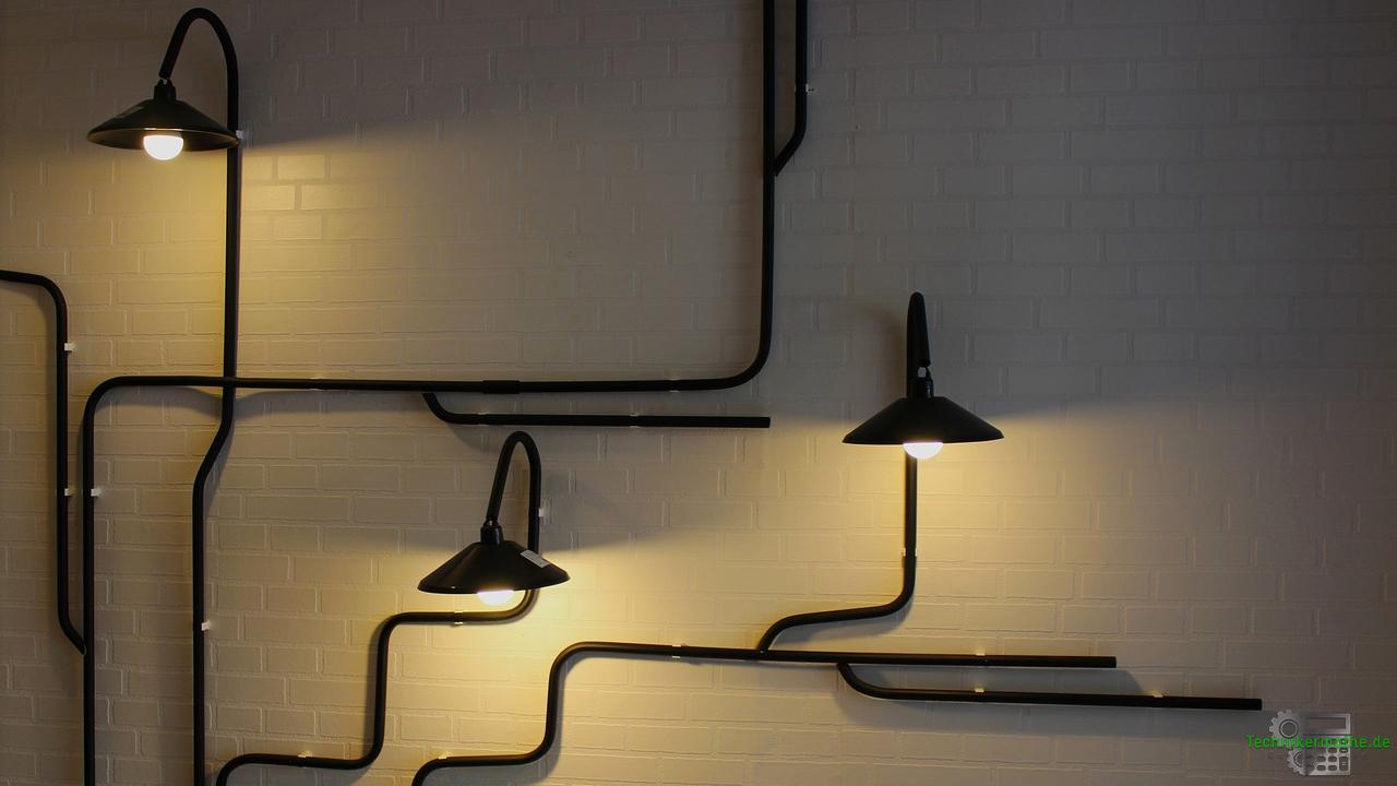 Stromversorgung im Haushalt - Licht