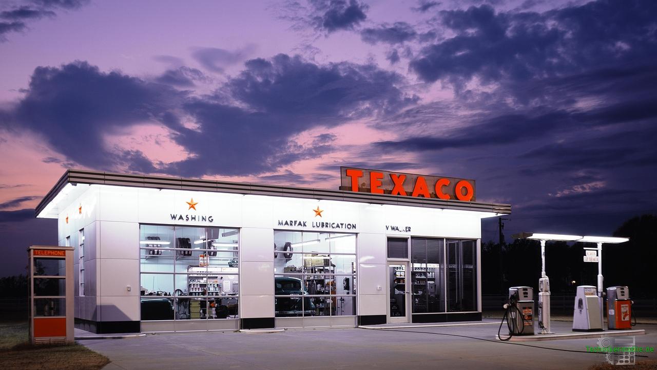 Preisbildung auf dem Energiemarkt - Tankstelle