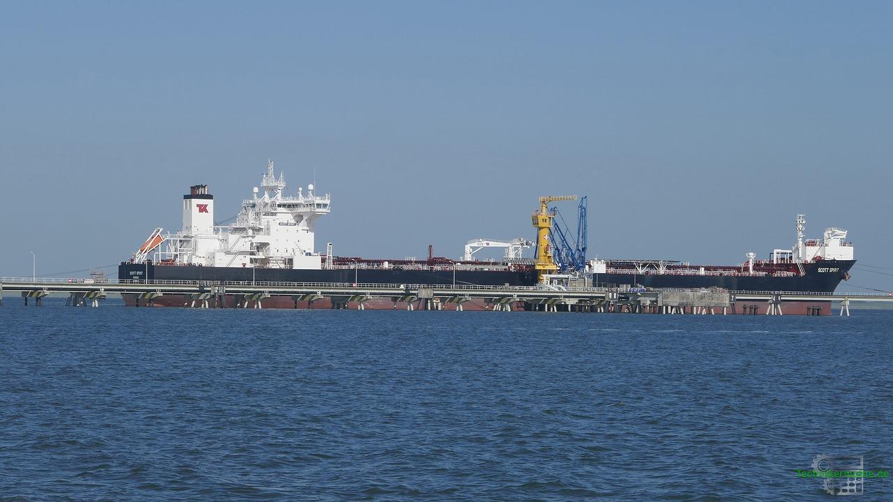 Preisbildung auf dem Energiemarkt - Gas-Tanker