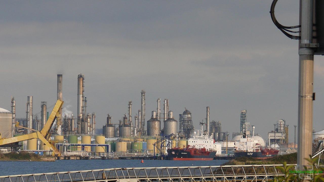 Heizölmarkt - Raffinerie