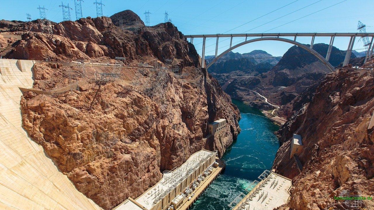 Wasserkraftwerk - Hoover-Damm