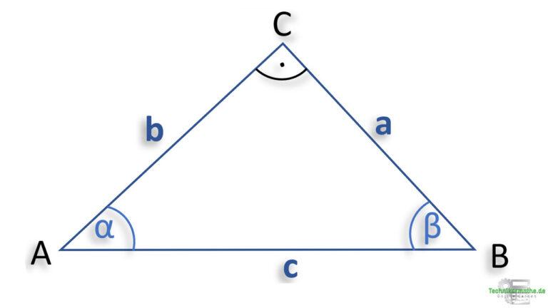 Rechtwinklige Dreiecke