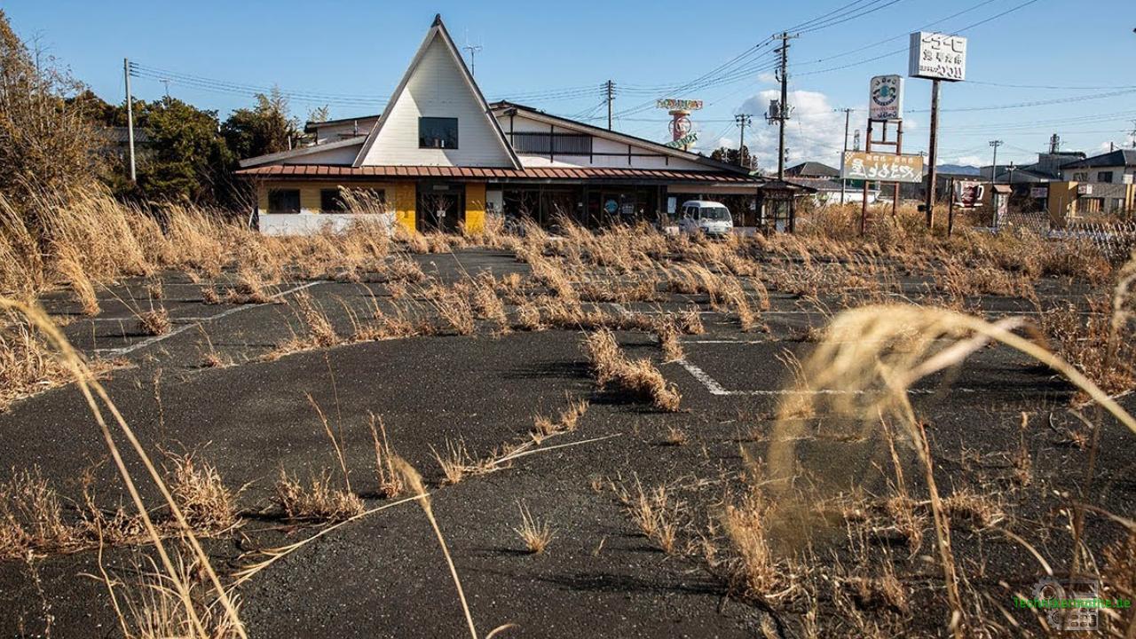 Fukushima - Örtchen in Reaktornähe