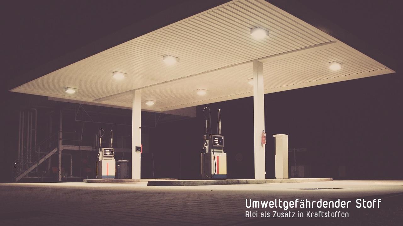 Schwermetalle - Tankstelle
