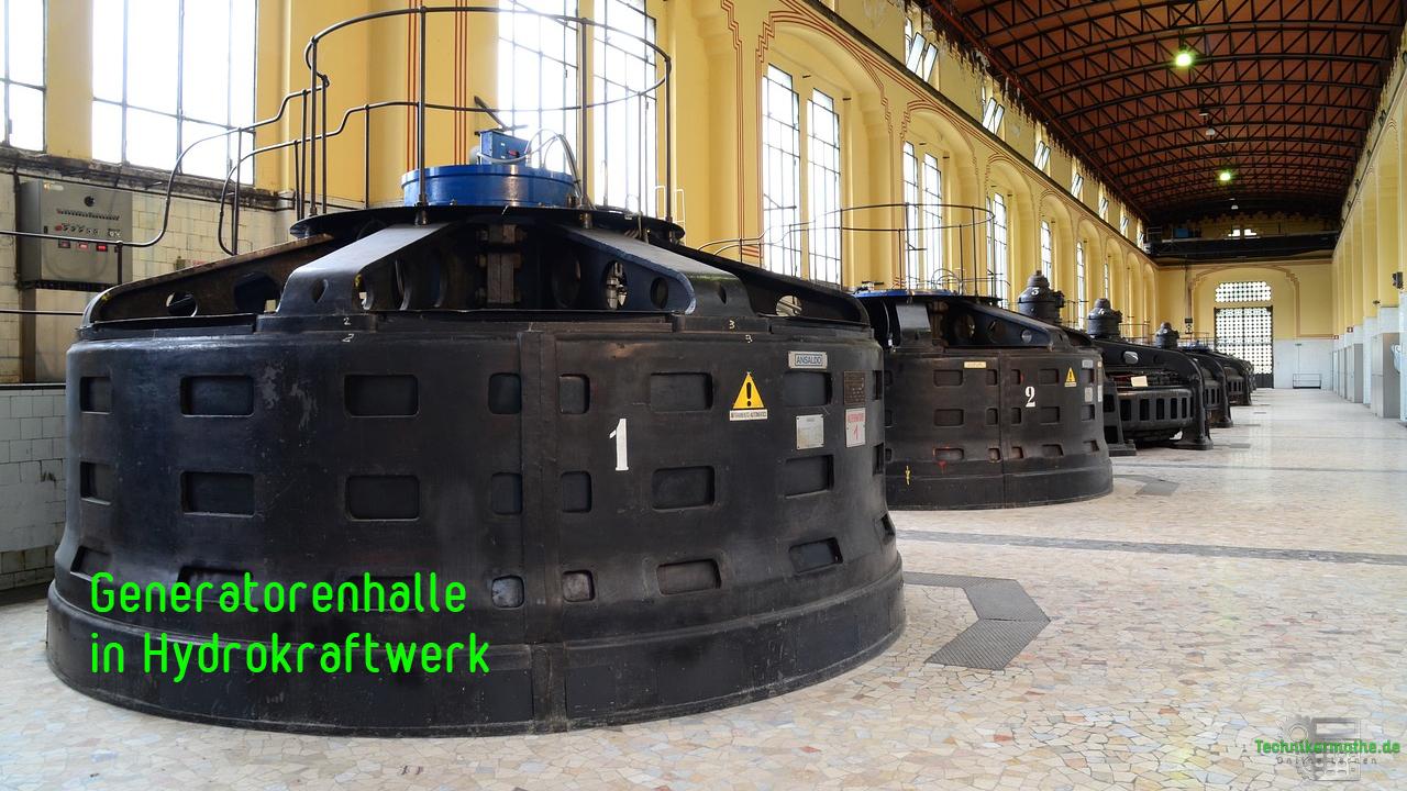 Stromgestehungskosten - Generatorenhalle