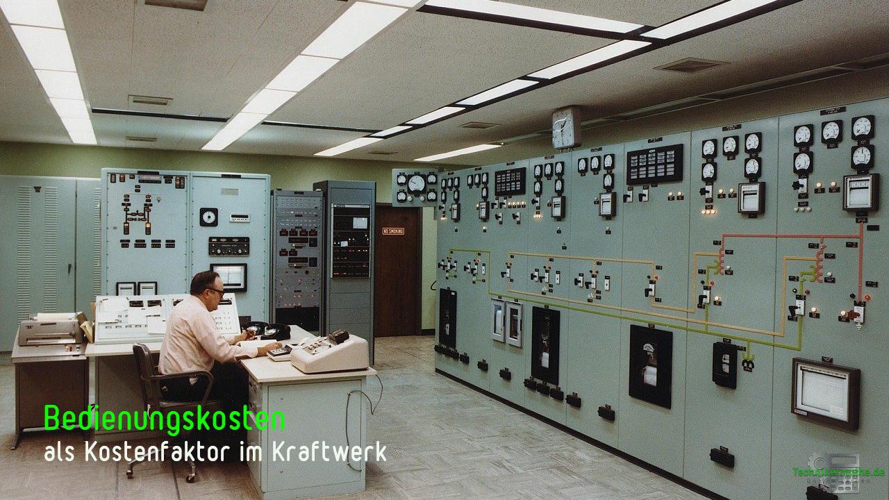 sonstige Kosten im Kraftwerksbetrieb