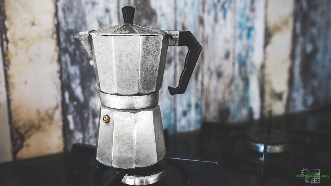Enthalpie - Energiegleichung - Espressokocher