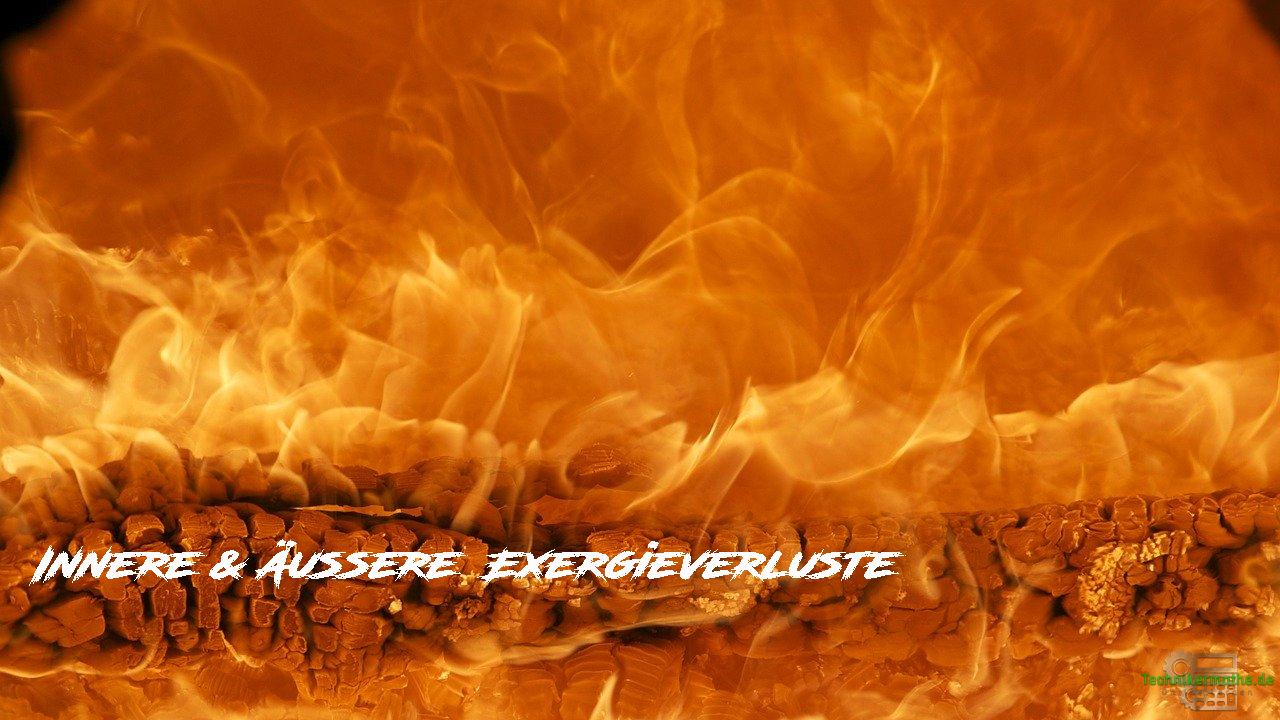 Exergieverluste - Innere und äußere Verluste der Exergie