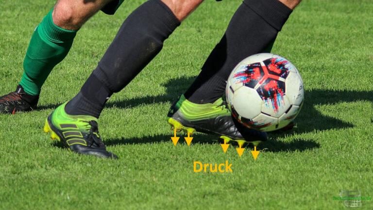 Druck Fußballschuhe