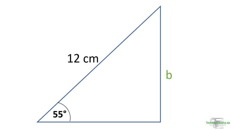 Kosinus anwenden -  Kosinus bei rechtwinkligen Dreiecken