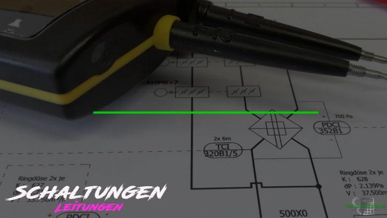 Schaltungen - Schaltzeichen - Leitungen