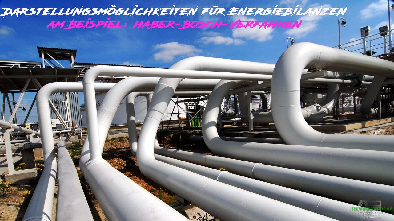 Energiebilanzen - Möglichkeiten zur Darstellung - Haber-Bosch-Verfahren