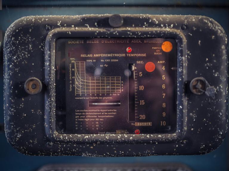 Amperemeter - historisch