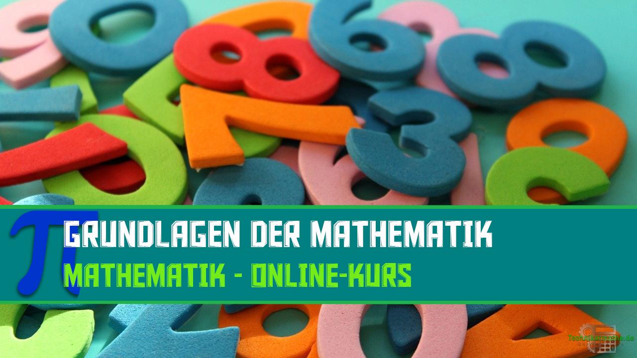 Grundlagen der Mathematik