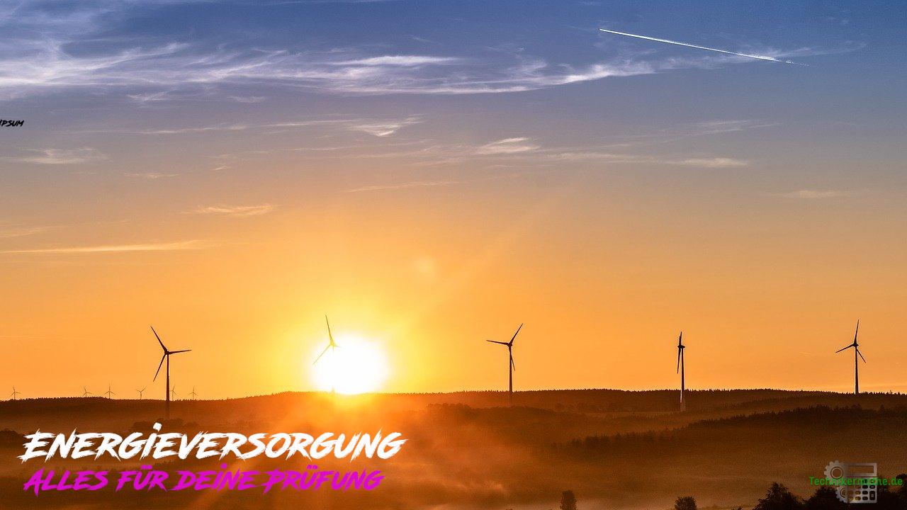 Energieversorgung - Onlinekurs