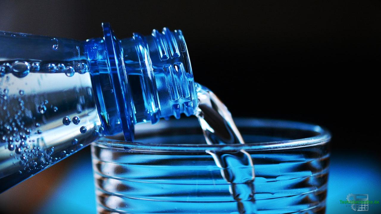Restmagnetismus - Erklärung - Wasserglas