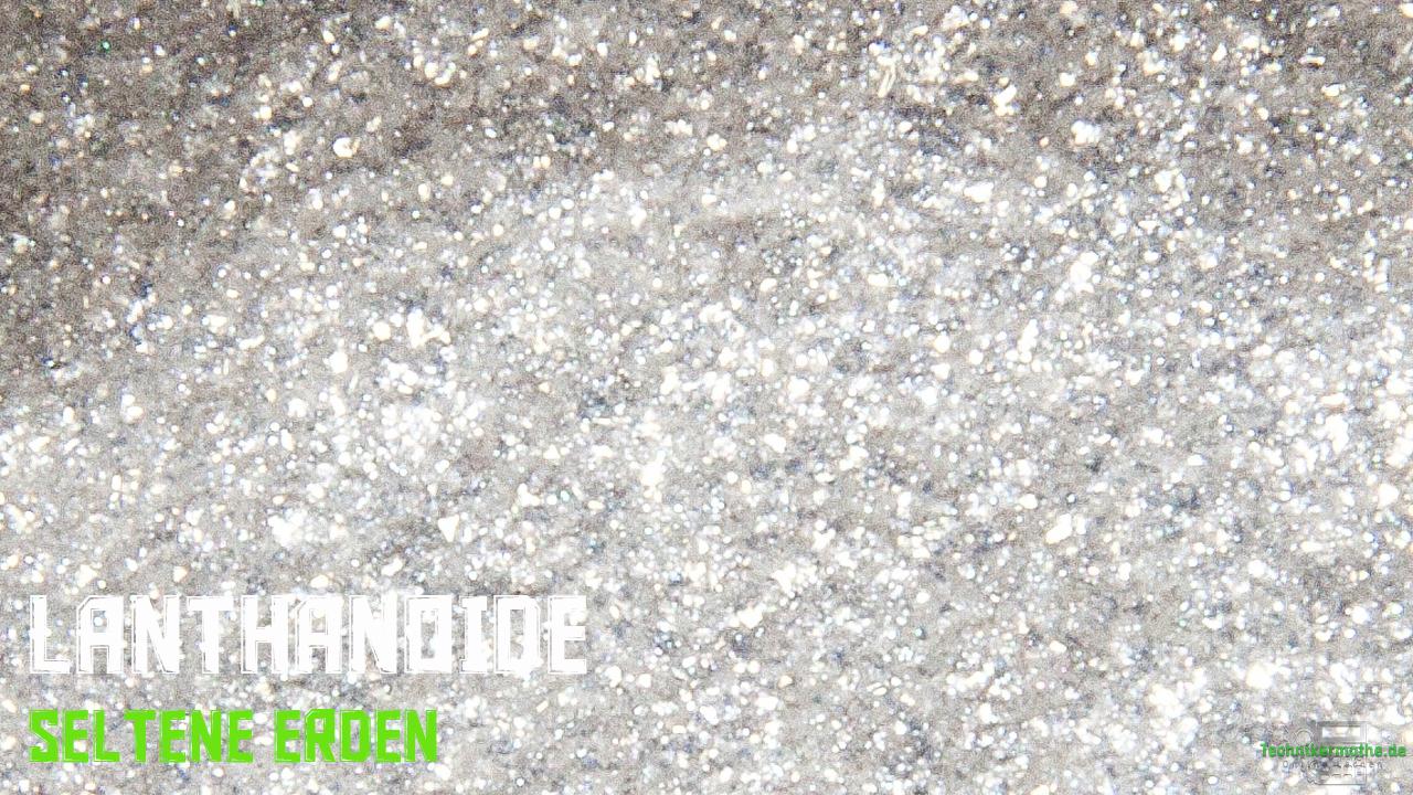 Lanthanoide - Silberglanz