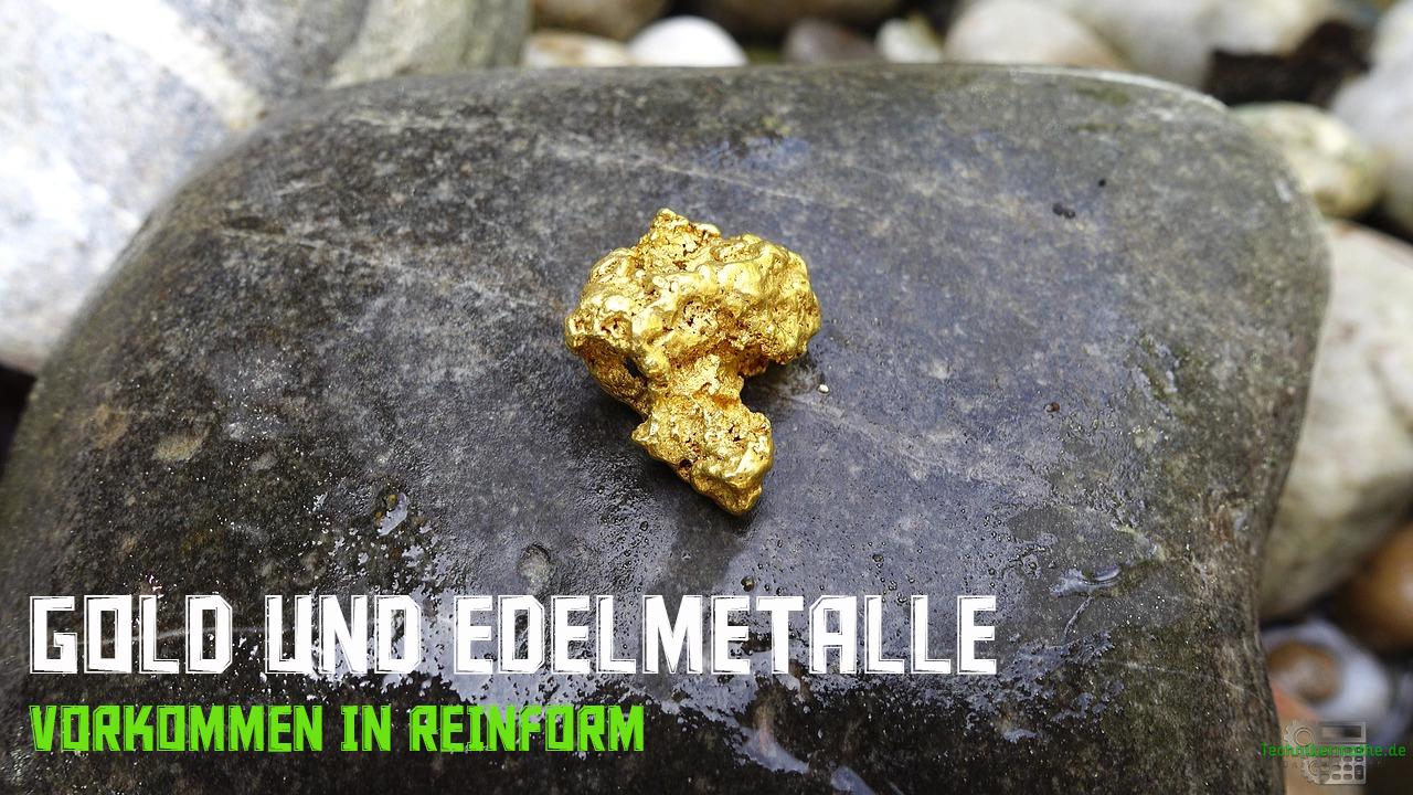 Gold und Edelmetalle