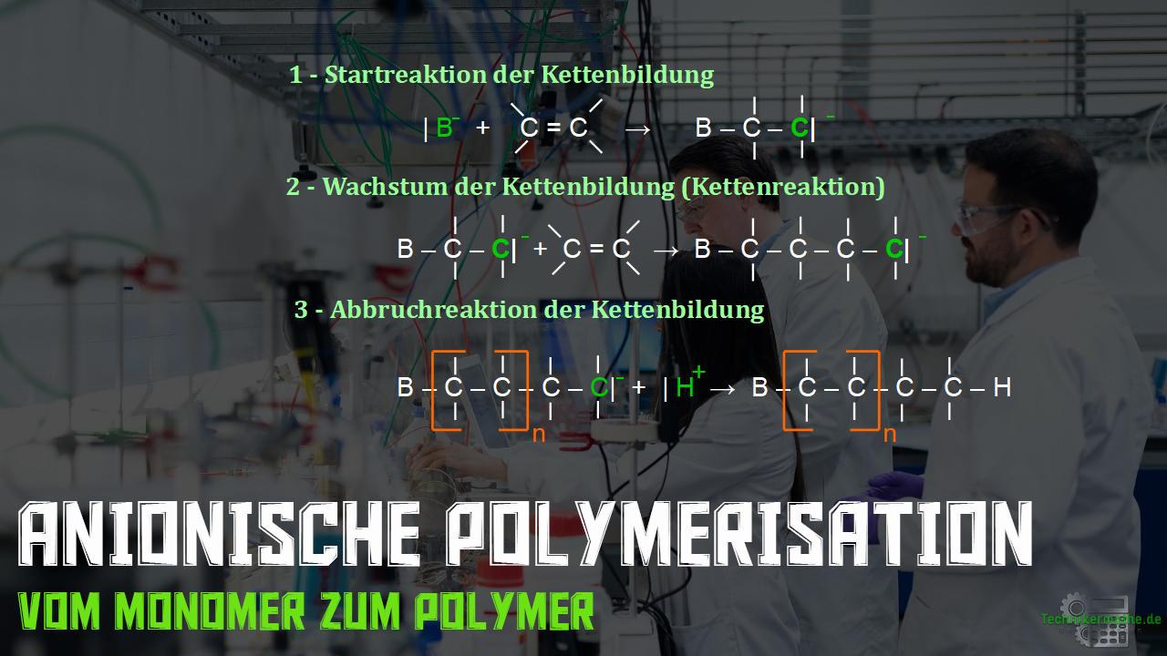 Anionische Polymerisation - Kettenwachstum