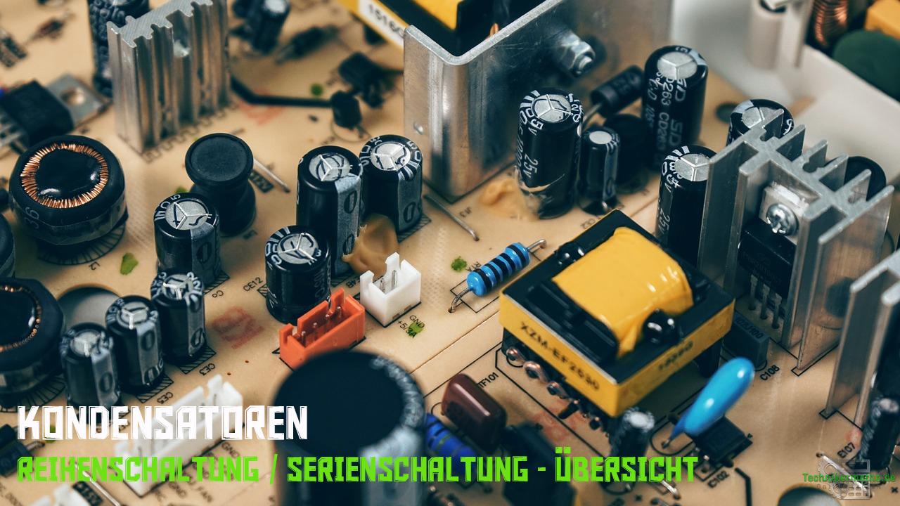 Kondensator in Reihenschaltung