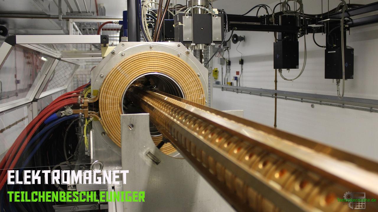 Elektromagnet - Teilchenbeschleuniger